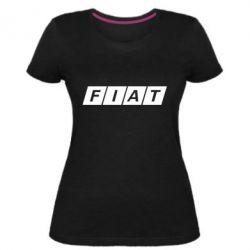 Женская стрейчевая футболка Fiat