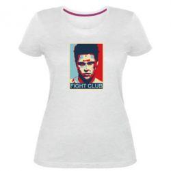 Жіноча стрейчева футболка Fight Club Tyler Durden