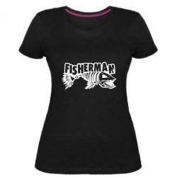Жіноча стрейчева футболка Fisherman
