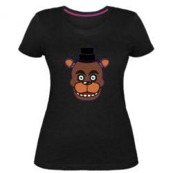 Жіноча стрейчева футболка Five Nights at Freddy's