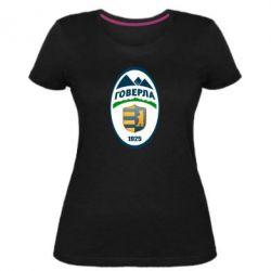 Женская стрейчевая футболка ФК Говерла Ужгород