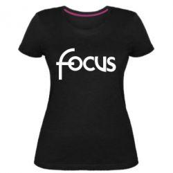 Жіноча стрейчева футболка Focus