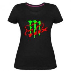 Жіноча стрейчева футболка Фокс Енерджи
