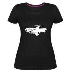 Купить Hellascotch, Женская стрейчевая футболка Ford mustang, FatLine