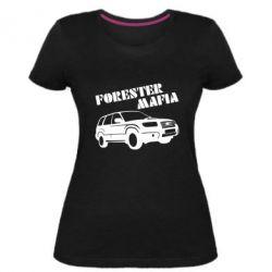 Женская стрейчевая футболка Forester Mafia