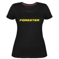 Жіноча стрейчева футболка FORESTER