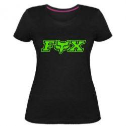 Жіноча стрейчева футболка Fox Moto