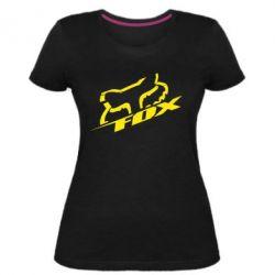 Женская стрейчевая футболка FOX Racing