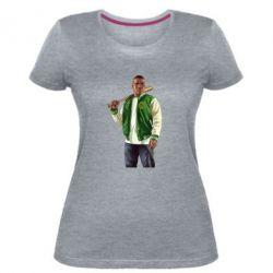 Женская стрейчевая футболка Franklin Clinton