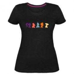 Женская стрейчевая футболка Futurama - FatLine
