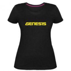 Жіноча стрейчева футболка GENESIS