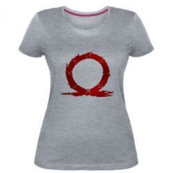 Жіноча стрейчева футболка God Of War Circle