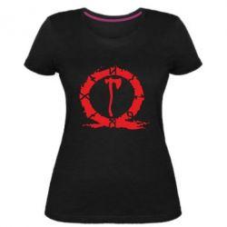 Жіноча стрейчева футболка God Of War Logo