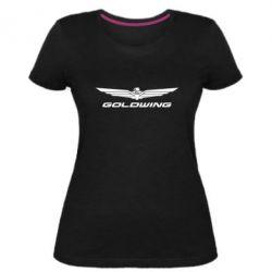 Жіноча стрейчева футболка Gold Wing