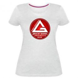 Жіноча стрейчева футболка Gracie Barra Miami