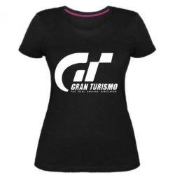 Женская стрейчевая футболка Gran Turismo