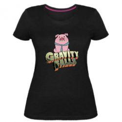 Женская стрейчевая футболка Гравити Фолз 2