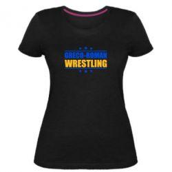 Жіноча стрейчева футболка Greco-Roman Wrestling