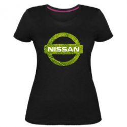 Жіноча стрейчева футболка Green Line Nissan