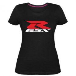 Жіноча стрейчева футболка GSX-R
