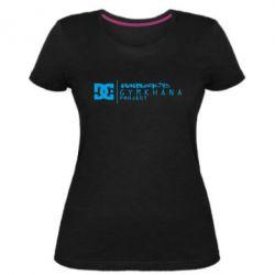 Жіноча стрейчева футболка Gymkhana Project Ken Block