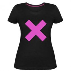 Жіноча стрейчева футболка Hacker