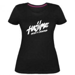 Женская стрейчевая футболка Hajime - FatLine