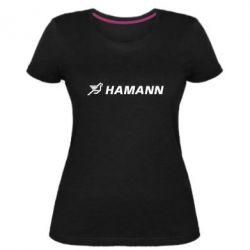 Жіноча стрейчева футболка Hamann