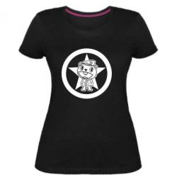 Женская стрейчевая футболка Happy Tree Friends