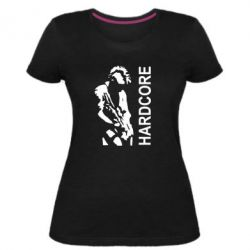 Жіноча стрейчева футболка Harcore