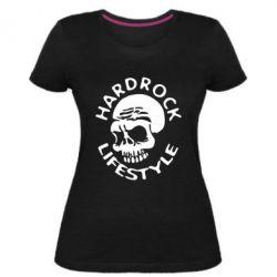 Женская стрейчевая футболка Hardrock lifestyle - FatLine