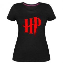 Жіноча стрейчева футболка Harry Potter logo 1