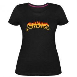 Женская стрейчевая футболка Hatebreed