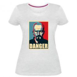 Жіноча стрейчева футболка Heisenberg Danger