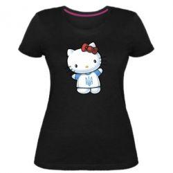 Женская стрейчевая футболка Hello Kitty UA