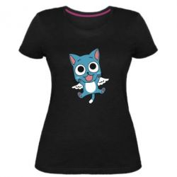 Жіноча стрейчева футболка Heppi