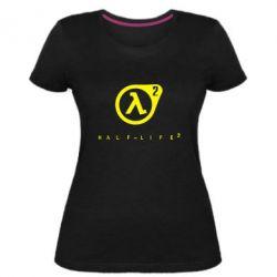 Женская стрейчевая футболка HL - FatLine