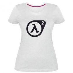 Жіноча стрейчева футболка HL2