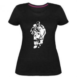 Жіноча стрейчева футболка Хокеїсти