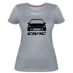 Жіноча стрейчева футболка Honda Civic