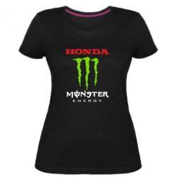 Жіноча стрейчева футболка Honda Monster Energy