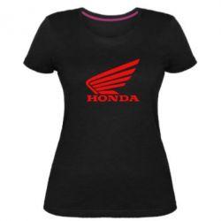 Жіноча стрейчева футболка Honda