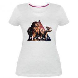Жіноча стрейчева футболка Horizon Zero Dawn