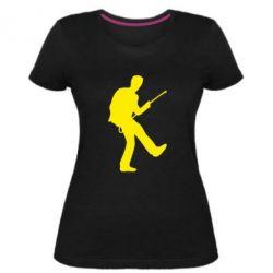 Жіноча стрейчева футболка House танцює