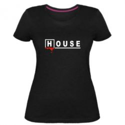 Жіноча стрейчева футболка House