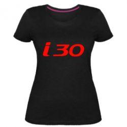 Женская стрейчевая футболка HYUNDAI i30