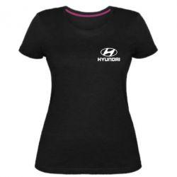 Жіноча стрейчева футболка Hyundai Малих