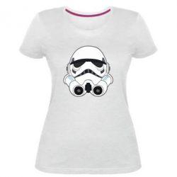 Жіноча стрейчева футболка Імперський штурмовик