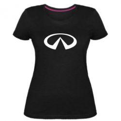 Женская стрейчевая футболка Infinity