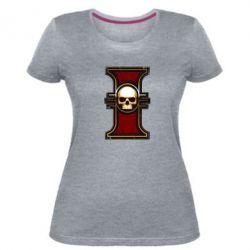 Жіноча стрейчева футболка інквізиція warhammer